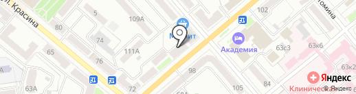 Магазин дверей на карте Кургана