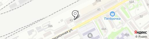Карамелька на карте Кургана
