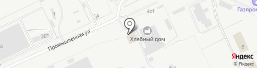 Производственная компания на карте Кургана
