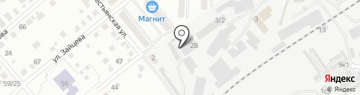 Гарант на карте Кургана