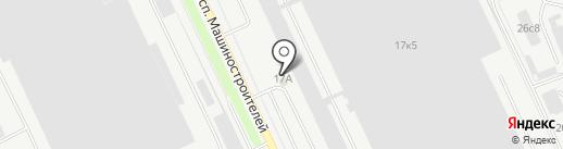 Ас партс на карте Кургана