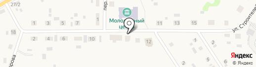 Чайка на карте Исетского