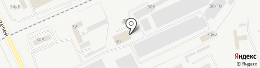 Инвента на карте Кургана