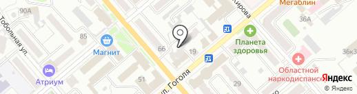 Страховая компания ЮЖУРАЛ-АСКО на карте Кургана