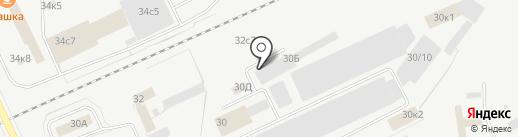 Белый Сервис Курган на карте Кургана