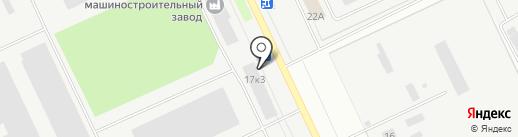 Сталь банк на карте Кургана