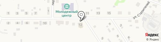 Строитель на карте Исетского