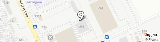 Автоцентр-29 на карте Кургана