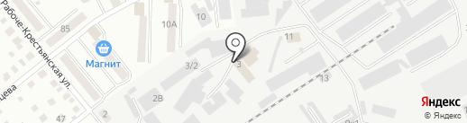 Елена на карте Кургана