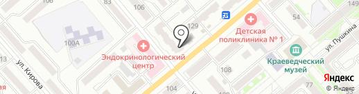 Амур.ру на карте Кургана
