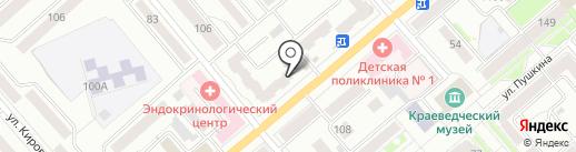 Нотариус Чечулина Л.М. на карте Кургана