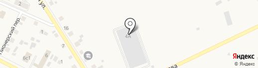 Полипак на карте Исетского