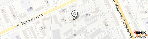 Бюро коммунальных услуг, МУП на карте Кургана