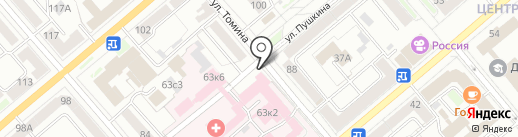 Курганфармация на карте Кургана