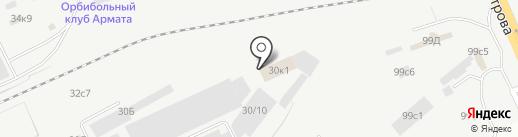 Агрострой на карте Кургана