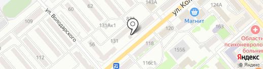 Птичка на карте Кургана
