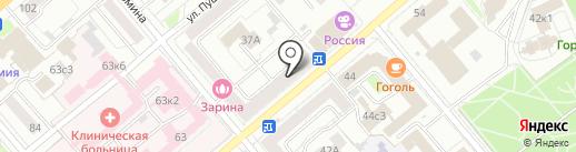 Ювелирная мастерская на карте Кургана