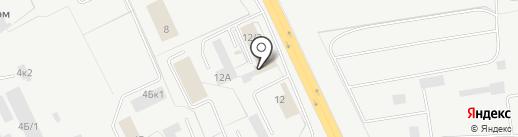 Заурал-Проект на карте Кургана