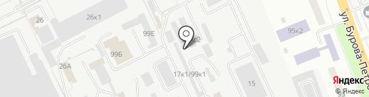 Монтажная компания на карте Кургана