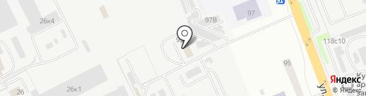 АвтоРегион-45 на карте Кургана