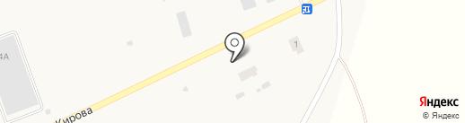 ХОРС на карте Исетского