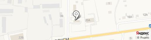 Автостар на карте Исетского
