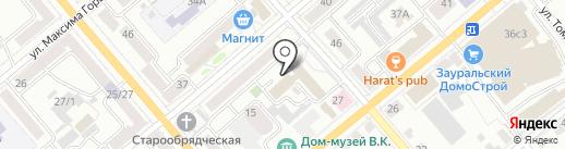Siters.ru на карте Кургана