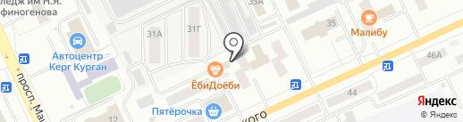 KMelody Records на карте Кургана