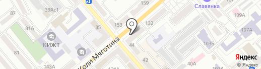СОЮЗ, КПК на карте Кургана