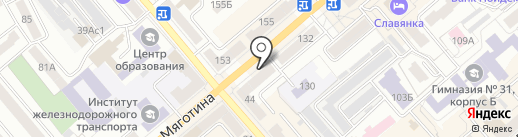 Магазин покрытий для пола на карте Кургана