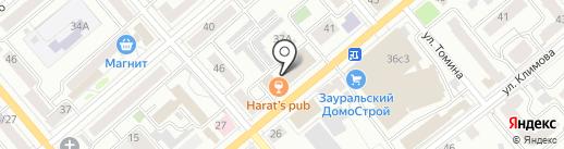Академия Стандарт на карте Кургана