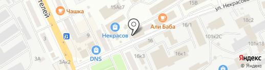 АЛЬФА-ОКНА на карте Кургана
