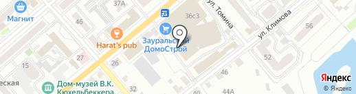 ДомСтройМонтаж на карте Кургана
