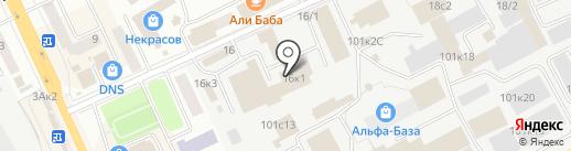 Амакс на карте Кургана