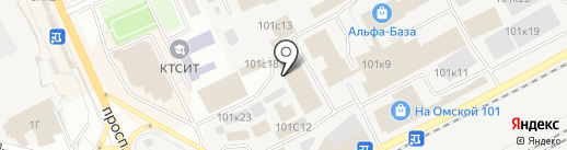 Техника уюта на карте Кургана