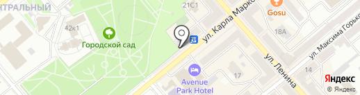 Аркада на карте Кургана