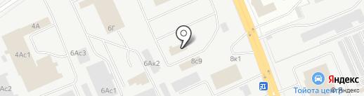 Шуховский полигон ТБО, МУП на карте Кургана