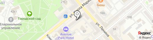 Салон фотокерамики на карте Кургана
