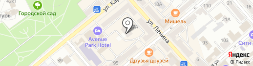Улица Ленина, 17, ТСЖ на карте Кургана