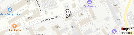 Бумер на карте Кургана