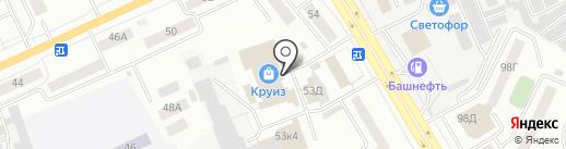 Оптово-розничная фирма на карте Кургана