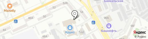 УРАЛТЕХСЕРВИС на карте Кургана