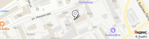 ТЭС-Курган на карте Кургана