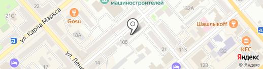 Всероссийское общество слепых на карте Кургана