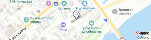 Прокуратура г. Кургана на карте Кургана