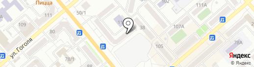 Служба доставки на карте Кургана