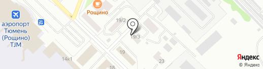 Прачечная на карте Тюмени