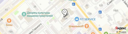 Инспекция Федеральной налоговой службы России по г. Кургану на карте Кургана