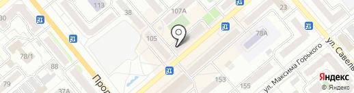 ЛебедьАвто на карте Кургана