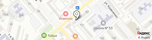 Этажи+ на карте Кургана